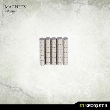Kromlech: Neodymium Disc Magnets 2x1mm (50)