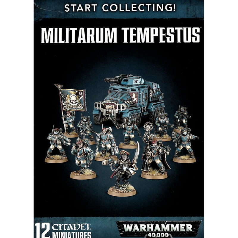 Warhammer 40K: Start Collecting Militarum Tempestus