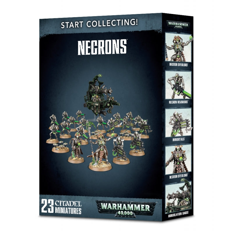 Warhammer 40k: Start Collecting! Necrons
