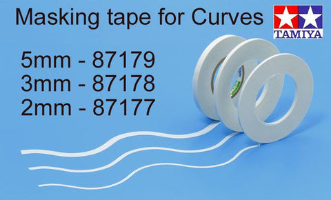Tamiya: Masking Tape for Curves 2mm