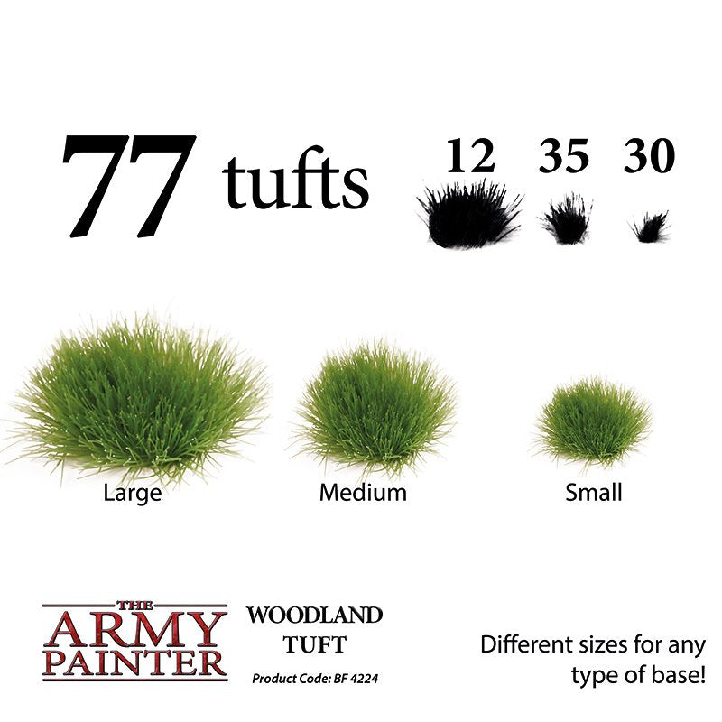 Army Painter Battlefields XP: Woodland Tuft (77 Tufts)