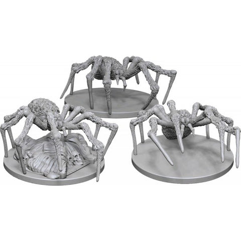 D&D Minis: Spiders