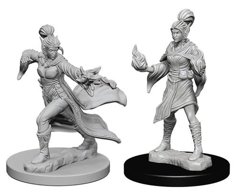 Pathfinder Minis: Elf Female Sorcerer