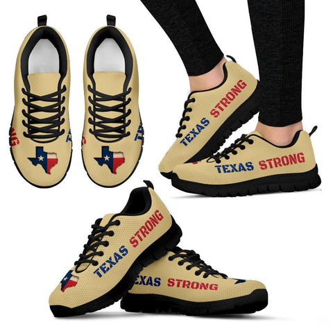 Texas Strong Running Shoes Gold For Men & Women