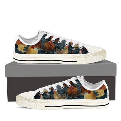 Chicken Women's Low Top Shoe