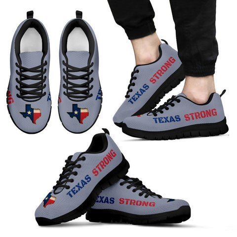 Texas Strong Running Shoes Silver For Men & Women