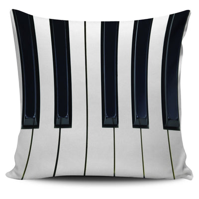 Piano Keys Pillow Case