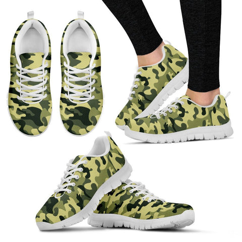 Camouflage Women Sneakers For Exercises & Casual Wear