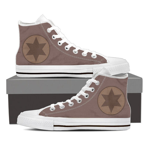 Women's High Top Canvas Shoes