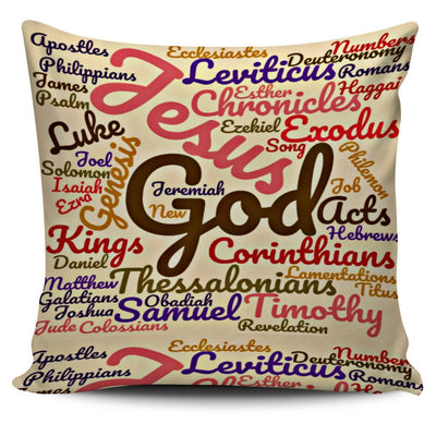 High Quality The Holy Bible Books Soft Pillow Case