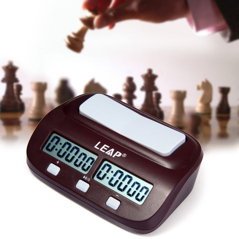 Nick's LEAP  Digital Chess Clock I-go Count Up Down Timer