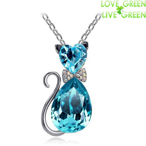New Brand Design Cat Pendant Necklace