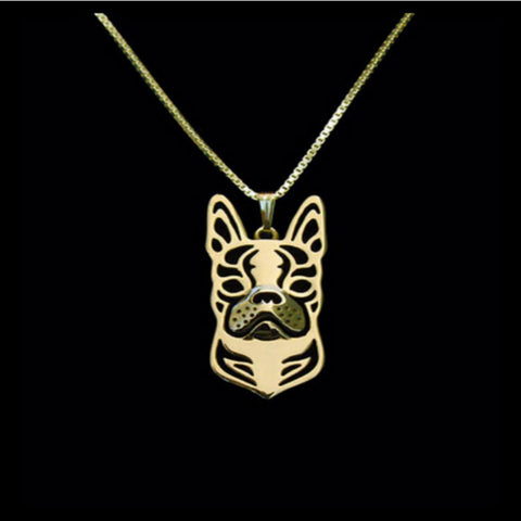 A Unique, Cute Boston Terrier Necklace