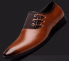 New Leather Fashion Men Wedding Dress Business Shoes