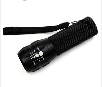 High Quality Super LED 3 Modes Zoomable Strong Light Mini Fashlight