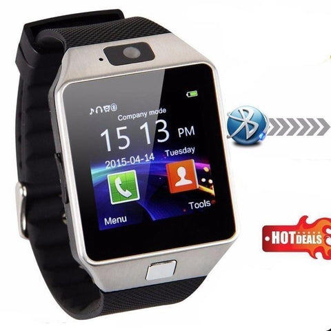 Digital Smart Watch Fit Android/IOS Phone Bluetooth Camera Sports Tracker Sleep Monitor