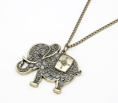 New Fashion Vintage Elephant Shaped Necklace
