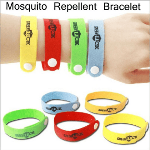 10 Pcs Non-Woven Fabric Mosquito Repellent Bracelet