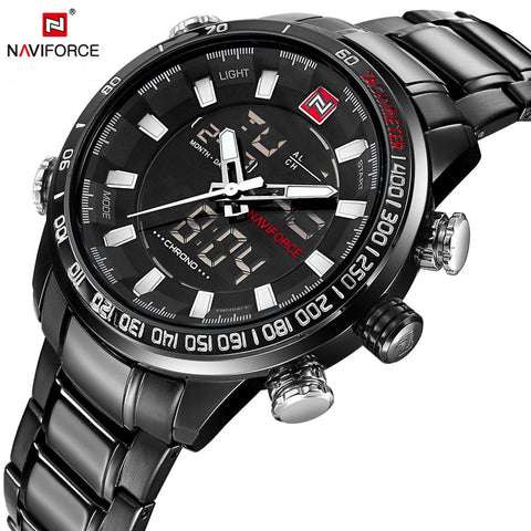 Top Brand Luxury Fashion Casual Sports Waterproof Men Wrist-watch