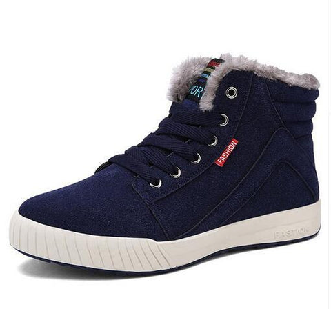 New Arrival Men Fashion Warm Comfy Boots