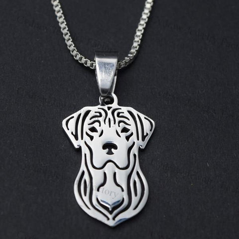 Labrador Retriever Dog Pendant Necklace