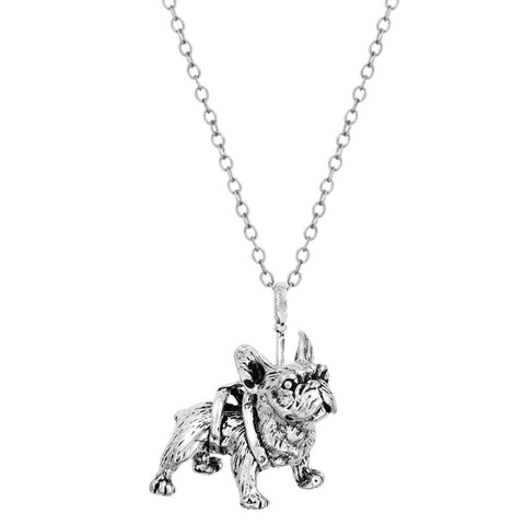 New  French Bulldog-Shaped Pendant Necklace