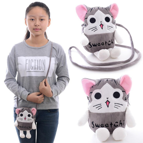 New Top Quality Portable 2 Layer Girl Cartoon Chic Hand Bag