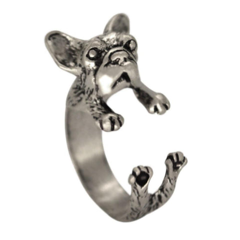 Curly, Premium French Bulldog Wrap Ring