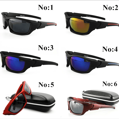 Men Sport Polarized Brand Sun Glasses