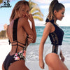 Sexy One Piece Swimsuit Women Beachwear Bodysuit, Swimwear