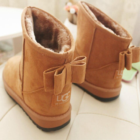 Premium Fashion Snow Ankle High Boots for women