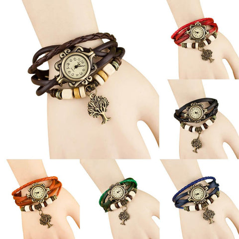 The Latest Fashion Women Luxury Brand  Leather Bracelet  Wrist Watch