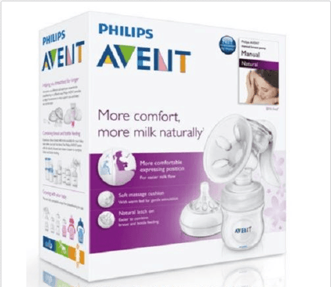New Philips Avent Manual Natural Breast Pump