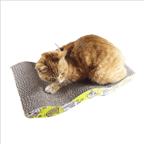 Handmade Cat Lounge Mastone Scratcher With Catnip