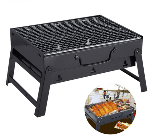 Portable Folding Stainless Steel Outdoor Picnic Camping Charcoal BBQ Grill