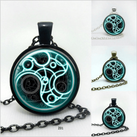 DOCTOR WHO (DW) TIME LORD SEAL NECKLACE