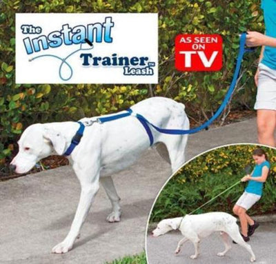 New Instant Trainer Dog Leash Trains Dogs Over 30 Lbs & Stop Pulling As Seen On TV