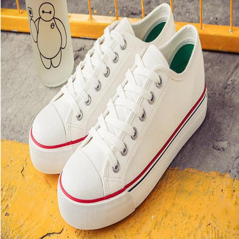 Fashionable High Quality Low-Cut Women Canvas Shoes