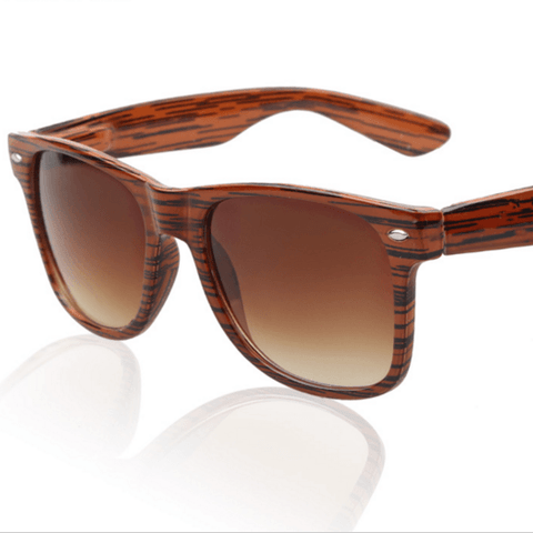 Outdoor Wooden Frame Sunglasses
