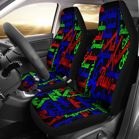 Custom-Made Holy Bible Books Mixed Colors Car Seat Cover