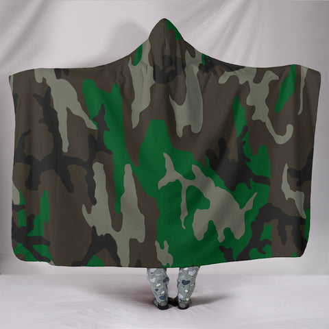 Green Brown and Grey Military Camouflage