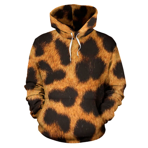 Leopard Patched All Over Hoodie