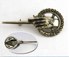 Vintage Costume Brooch Pin For Game of Thrones hand of The King Lapel