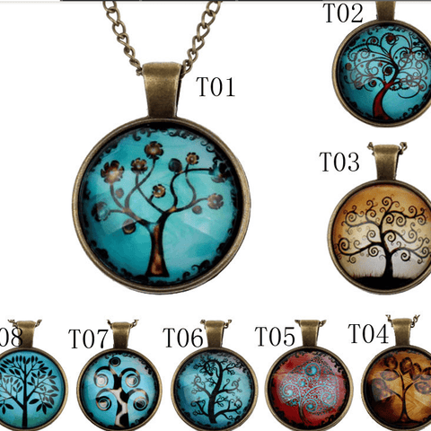 Women Tree of Life Pendant Necklace
