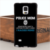 Police Mom Phone TPU Case For iPhone i6, i6 Plus, i6S, i6S Plus, and Samsung S4, S5, S6,Note 2,3,4