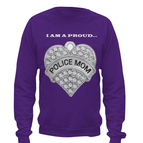 Police Mom Sweat Shirt