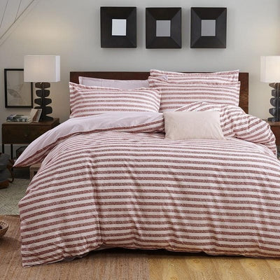 4 PCS Natural Cotton Bedding Sets Designer Pattern Duvet, Sheet & Pillow Cases