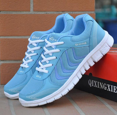 Women Casual Air Breathable Mesh New Fashion  Sports Shoes