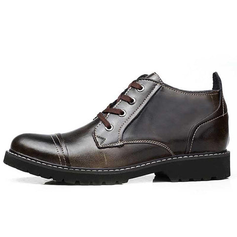 100% Genuine Leather Men Fashion Shoes