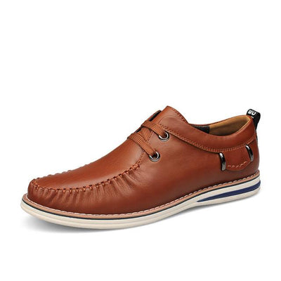 New Luxury Brand Men Lace-Up Fashion Cashual Shoes